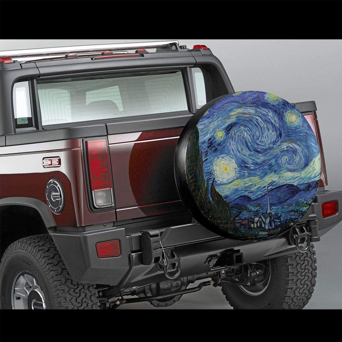 Sherrygeoffrey Star Trek Space The Final Frontier Beautiful and Practical Tire Cover Essential for Daily Car Protection 15 Inch