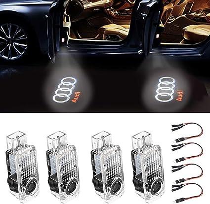 Proyector de luces LED para puerta de coche con logotipo HD de ...