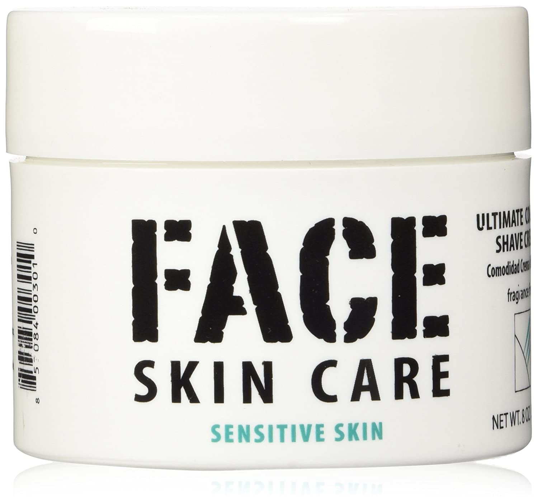 Ultimate Comfort Shaving Cream for Sensitive Skin, Lab Series Alternative, 8 Oz Jar