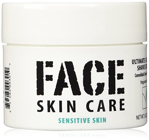 Face Skin Care: Ultimate Comfort Shaving Cream for Sensitive Skin, Lab Series Alternative