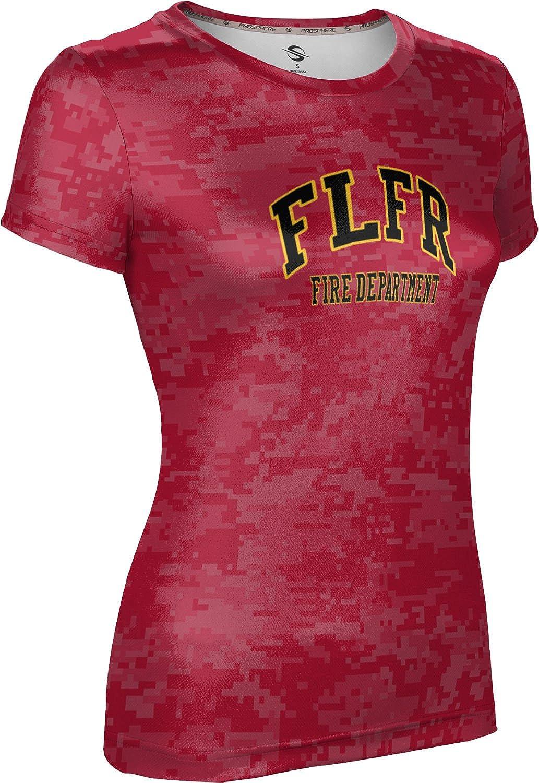 ProSphere Women's Fort Lauderdale Fire Rescue Gov-Fire-Police Digital Tech Tee