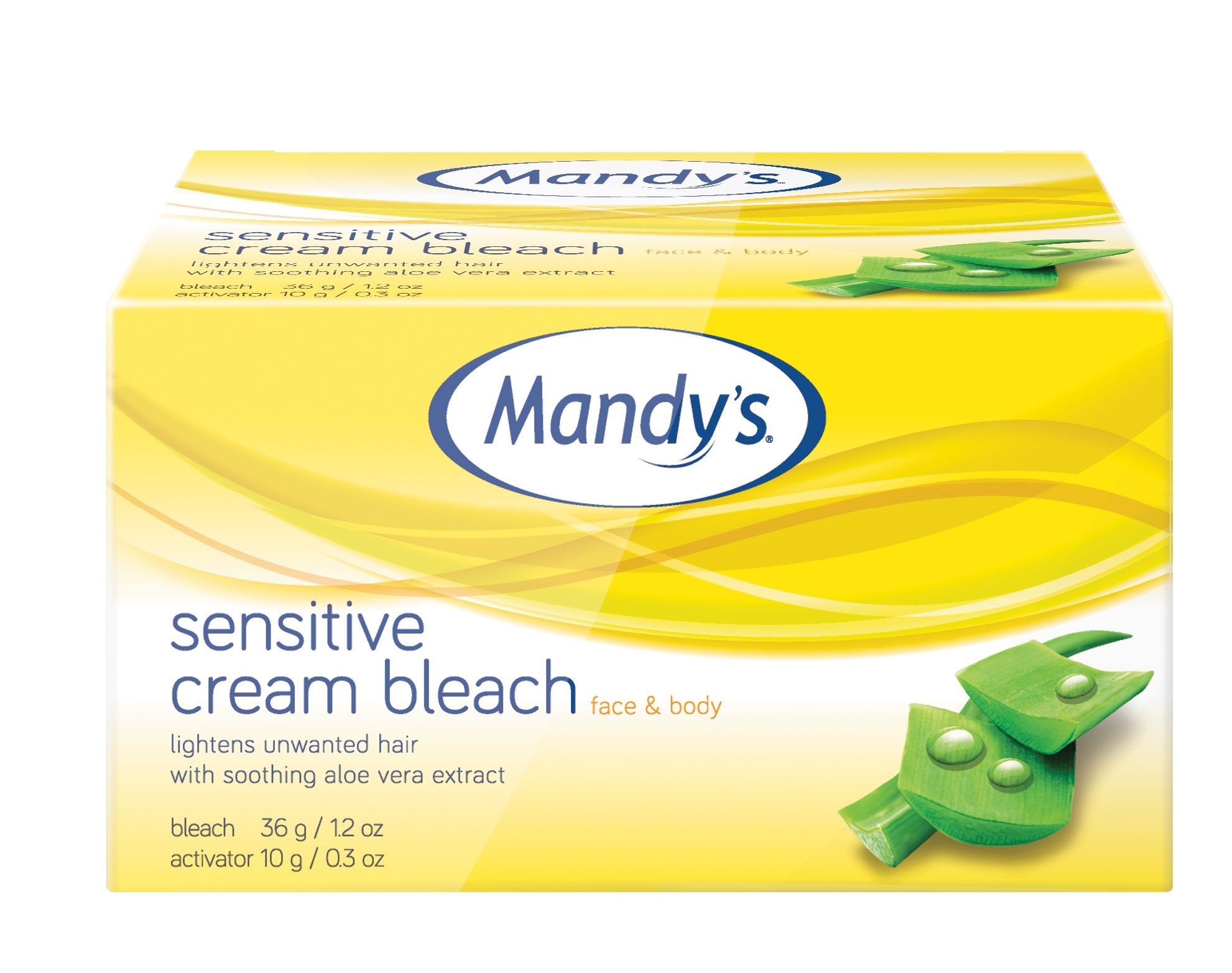 Mandy's Sensitive Cream Bleach