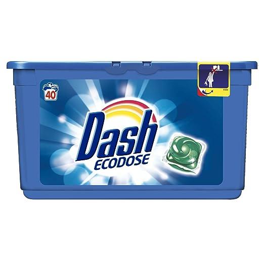 5 opinioni per Dash detersivo Ecodosi 40 lavaggi