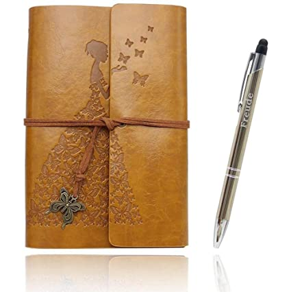 Superieur Writing Journals Notebook (Value Pack) Refillable Leather Womenu0027s Notebook  Journals, A6(7