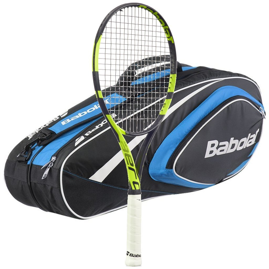 Babolat 2016 – 2018 Bag with Pure Aero Team Tennis Racquet B019HGFPO8 – Strung with 6ラケットバッグ – Choiceバッグの色 37988 Blue Bag B019HGFPO8, BRAN'S おお蔵:da714832 --- cgt-tbc.fr