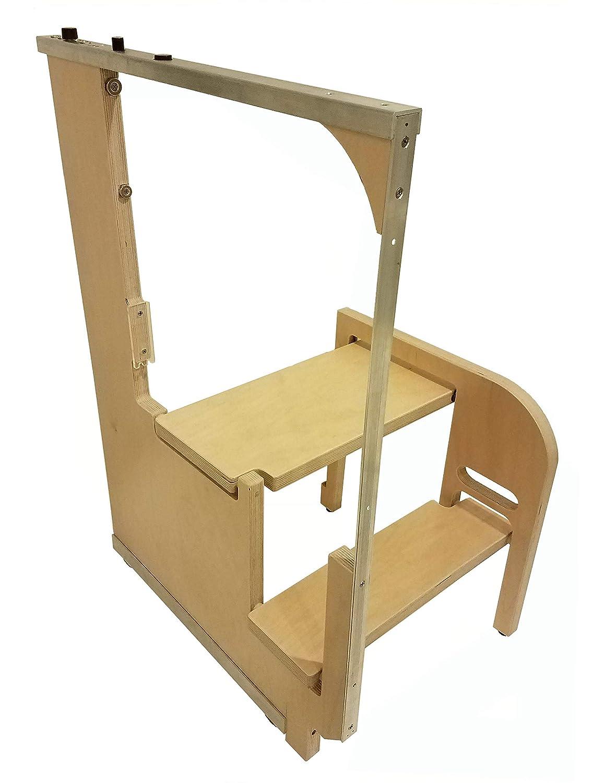 Sensational Amazon Com Hideaway Solutions Step 180 Wooden Folding Andrewgaddart Wooden Chair Designs For Living Room Andrewgaddartcom