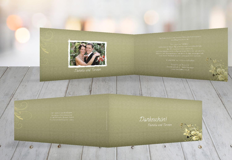 Kartenparadies Kartenparadies Kartenparadies Danksagung für Hochzeitsgeschenke Hochzeit Danke Din Liebeswunder, hochwertige Danksagungskarte Hochzeitsglückwünsche inklusive Umschläge   10 Karten - (Format  215x105 mm) Farbe  DunkelGelb B01NBXAVZE   Grüne, neue Tech 9ae7b1
