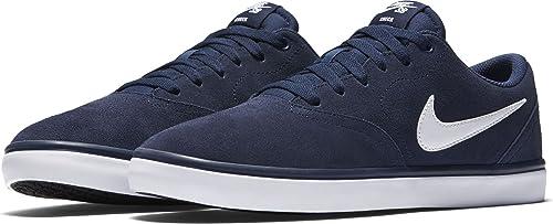 huge discount 91058 42757 Nike SB Check Solar, Zapatillas de Skateboarding para Mujer, Azul (Midnight  NavyWhite), 36 EU Amazon.es Zapatos y complementos