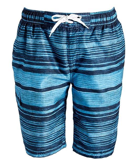1f60d33f53 Kanu Surf Men's Legacy Swim Trunks (Regular & Extended Sizes), Jetstream  Aqua,