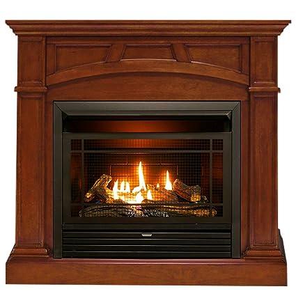 Amazon Com Duluth Forge Dual Fuel Ventless Fireplace 26 000 Btu