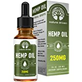 Nature Driven Hemp Oil Extract :: for Pain Relief and Anti-Anxiety Support :: All-Natural Ingredients :: Promotes Relaxation & General Good Health :: 250MG Per Serving :: 1 FL OZ per Bottle
