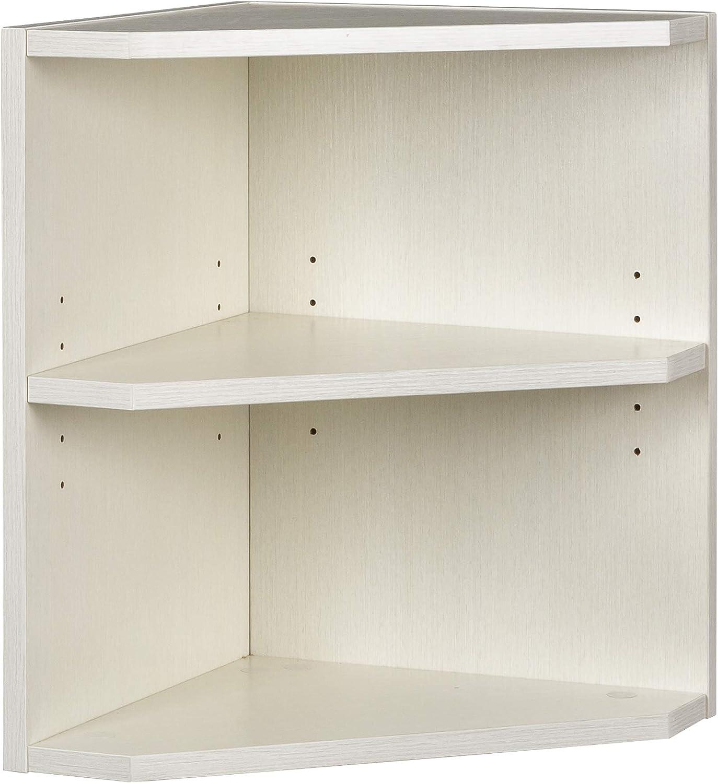 Textured Sea Salt Laminate Safco Medina Hutch Cabinet