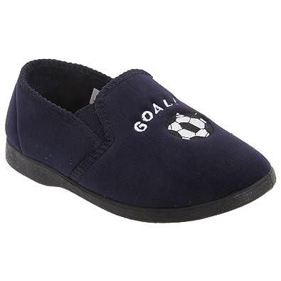 Buy Cheap Boys 'MIDFIELD' velour slippersx