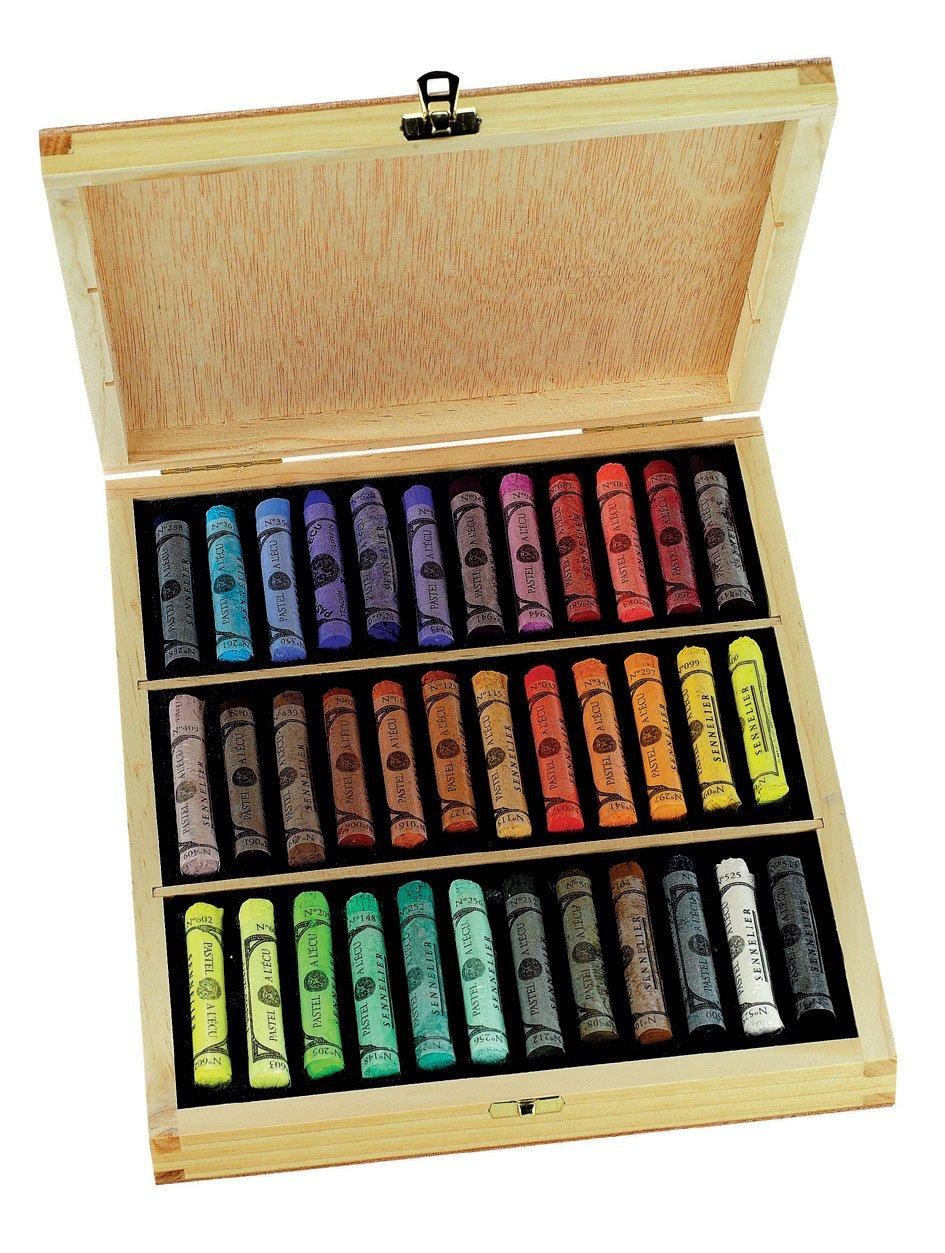 Sennelier 36 Full Pastel Wood Box Set by Sennelier