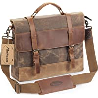 Manificent Men's Messenger Bag (Brown)