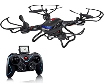 Dron Holy Stone F181 con radiocontrol y cámara HD, 4 canales RTF ...