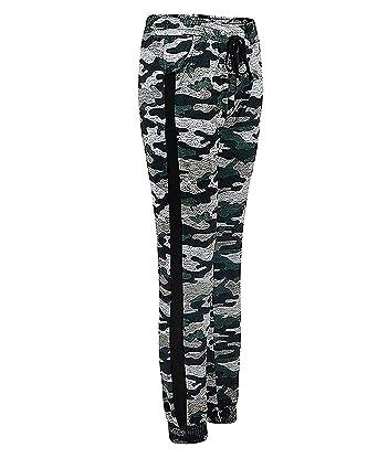 LOTMART Mujer Camuflaje Pantalones De Chándal Jogging Pantalones ...