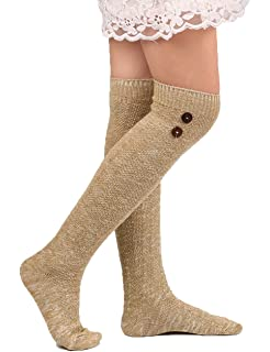 a7d026d5b82 Floral Find Women s Cable Knit Knee-High Winter Boot Socks Extra ...