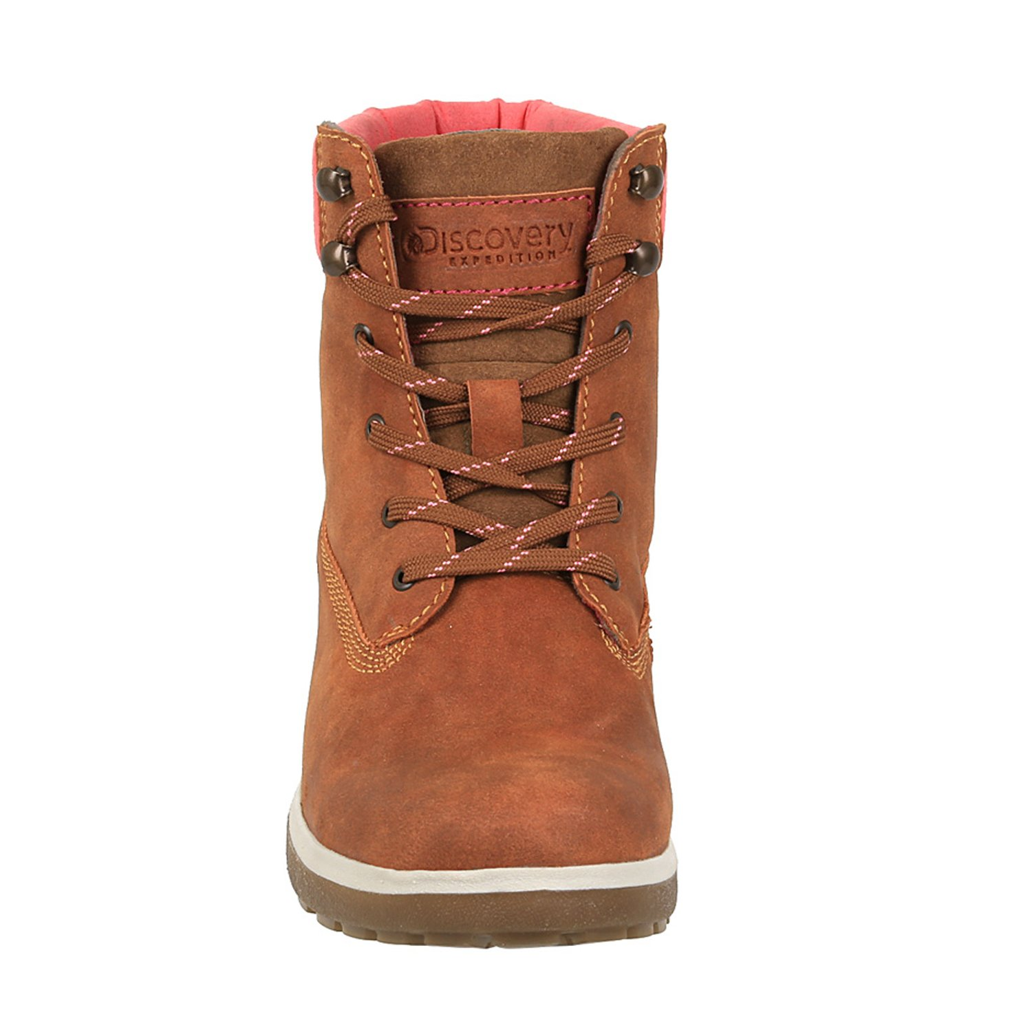 Discovery Expedition Women's Adventure High Top Lace up Hiking Boot Cinnamon Size 9.5 by Discovery Expedition (Image #3)