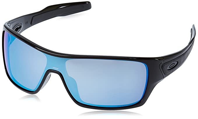 d5c2311307a Image Unavailable. Oakley Men s Turbine Rotor Polarized Iridium Rectangular  Sunglasses