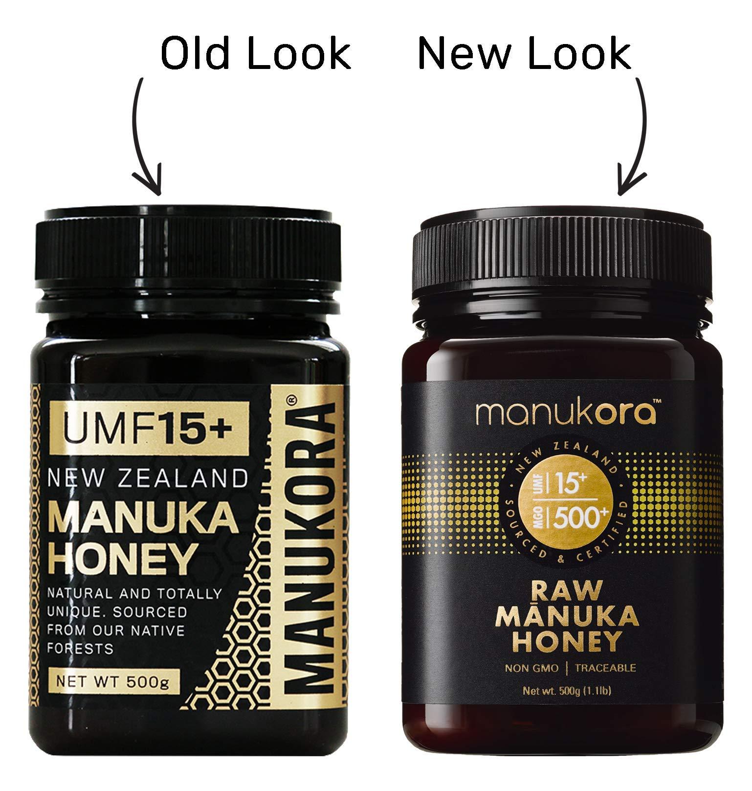 Manukora UMF 15+/MGO 500+ Raw Mānuka Honey (500g/1.1lb) Authentic Non-GMO New Zealand Honey, UMF & MGO Certified, Traceable from Hive to Hand by Manukora (Image #6)