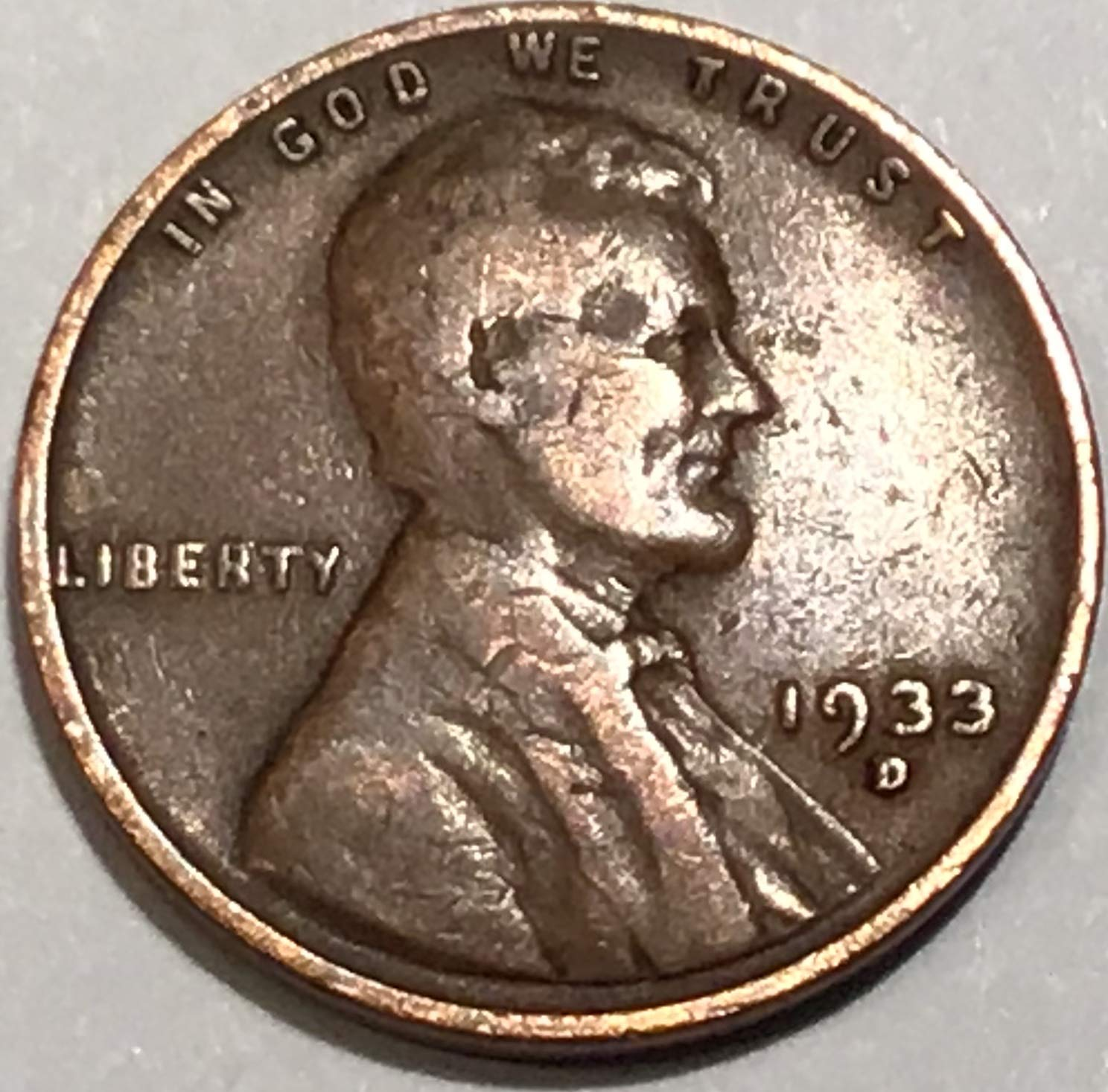 G-VG 1913-D LINCOLN WHEAT CENT PENNY ROLL