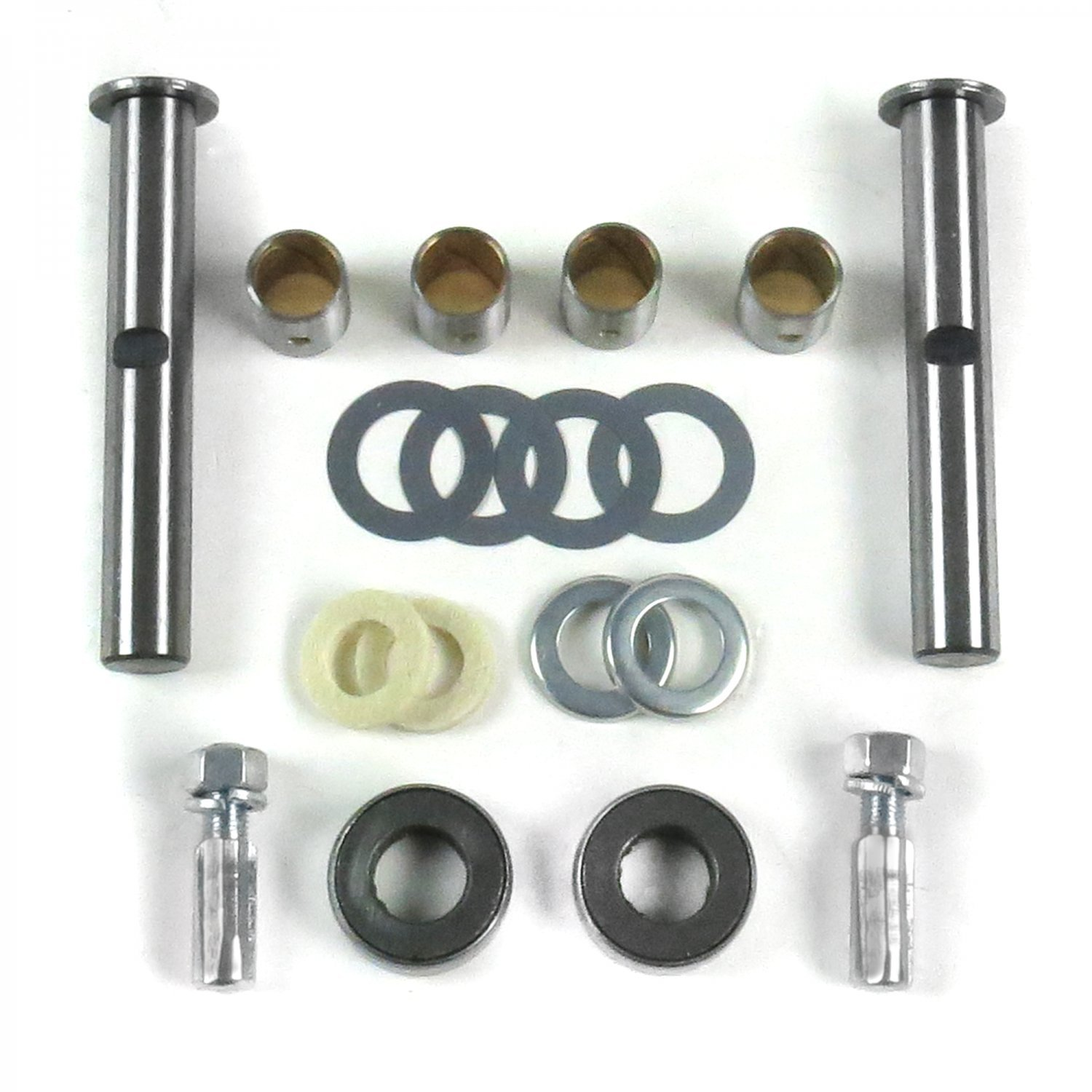 Helix 15981 Spindle King Pin Kit with Bushings