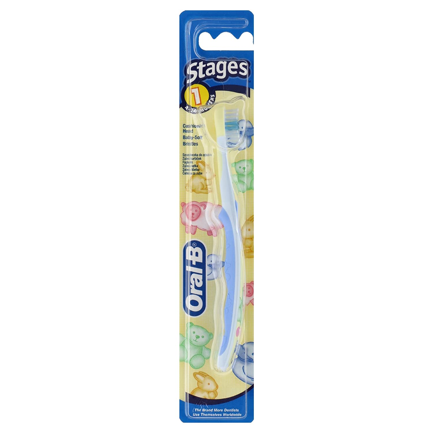 Oral-B Baby Cepillo De Dientes Manual De Winnie The Pooh: Amazon.es: Salud y cuidado personal