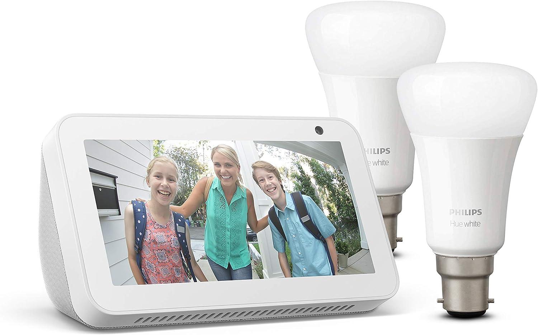 Echo Show 5 White Works with Alexa Blink Mini Camera