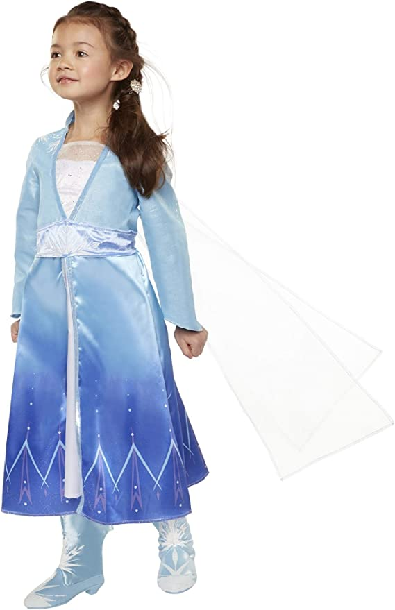 Girls Anna Elsa Olaf Sparkly Frozen Forever Nightgown