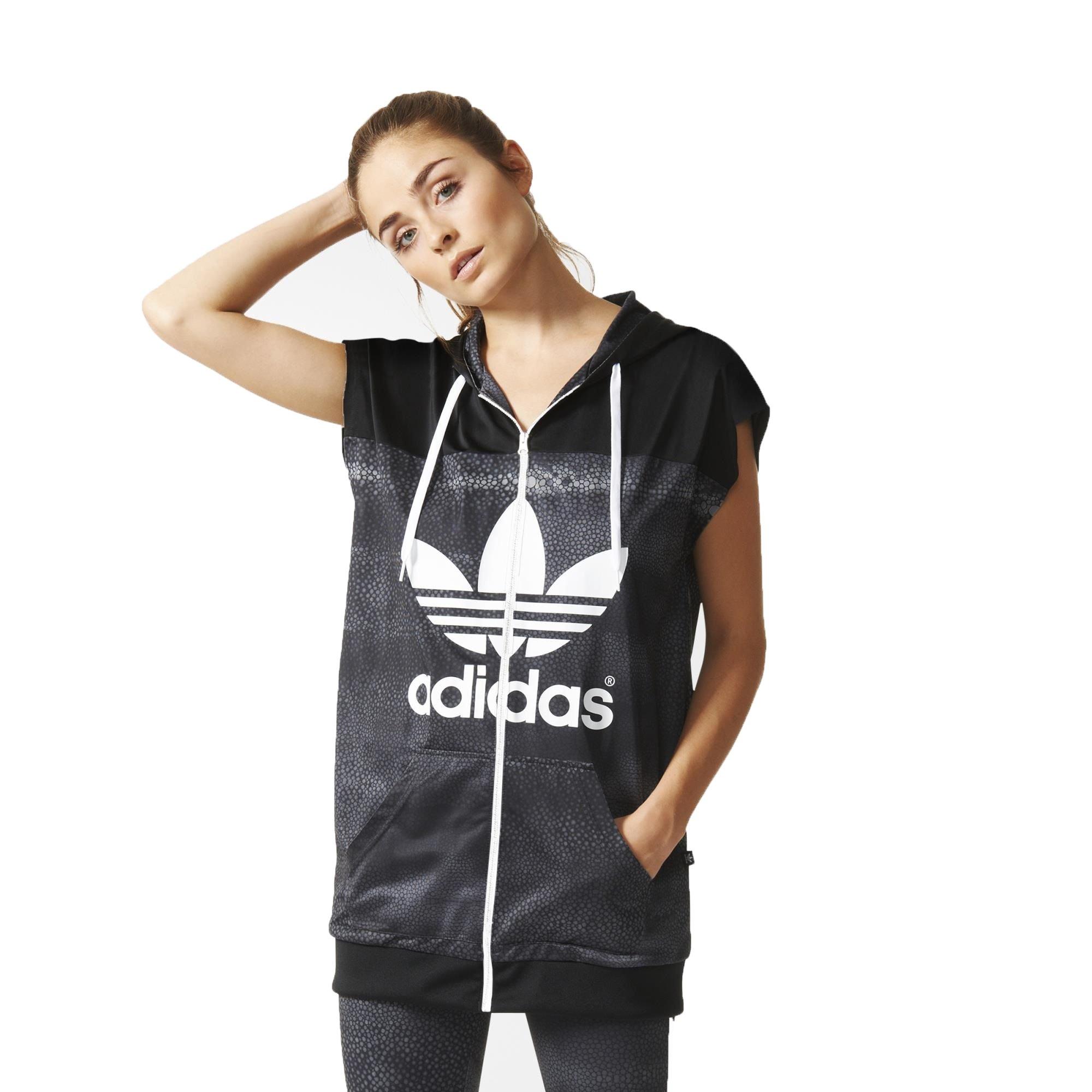 Adidas Originals Rita Ora Mystic Moon TT Track Jacket AA3864 Black Women's Vest (size Medium) by adidas
