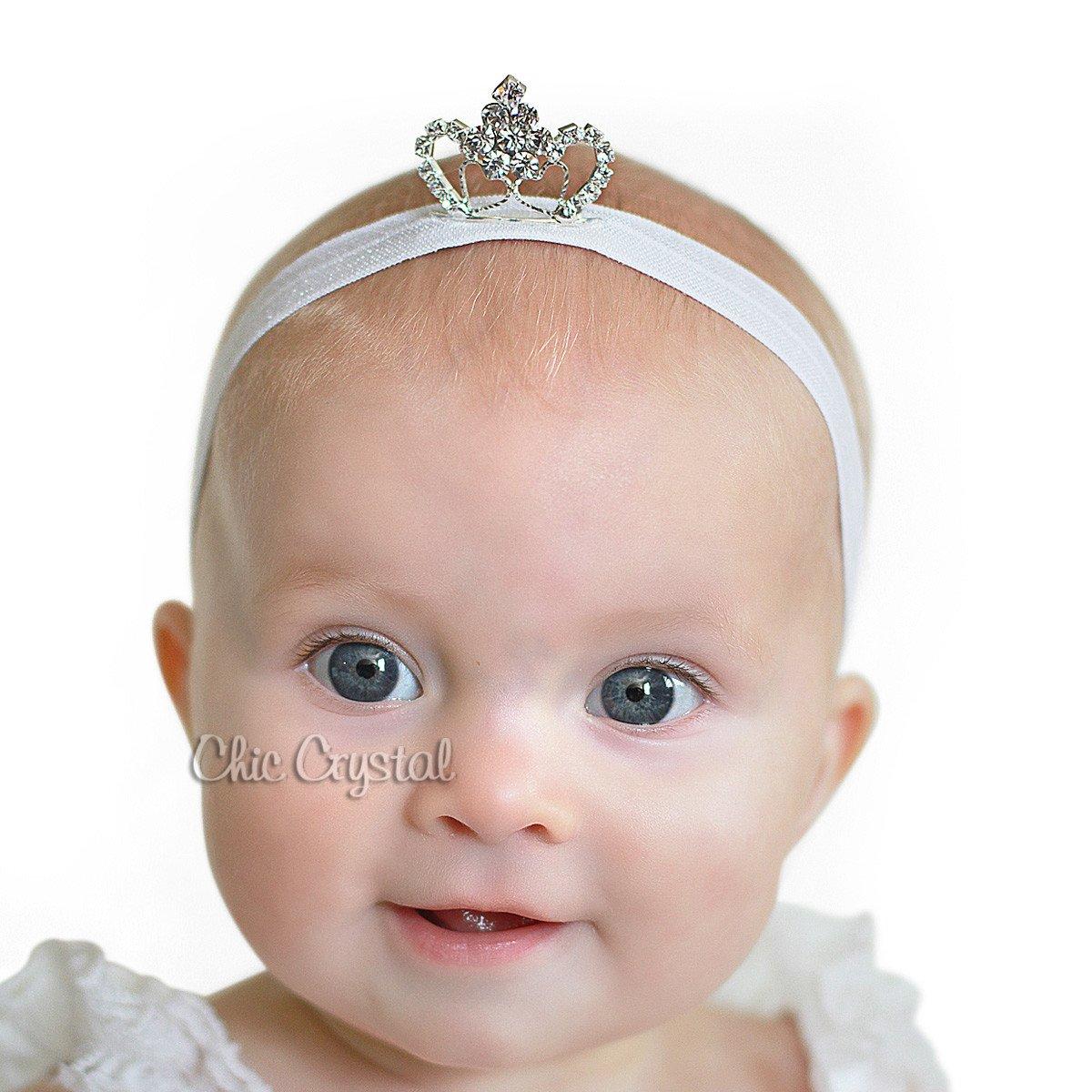 Amazon.com  Princess Baby Tiara Headband (6-12months 4c020ced802