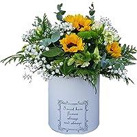 Botanic Dessign Ramo de flores naturales frescas variadas ENTREGA EN 24 HORAS DE LUNES A VIERNES con tres Girasoles y…