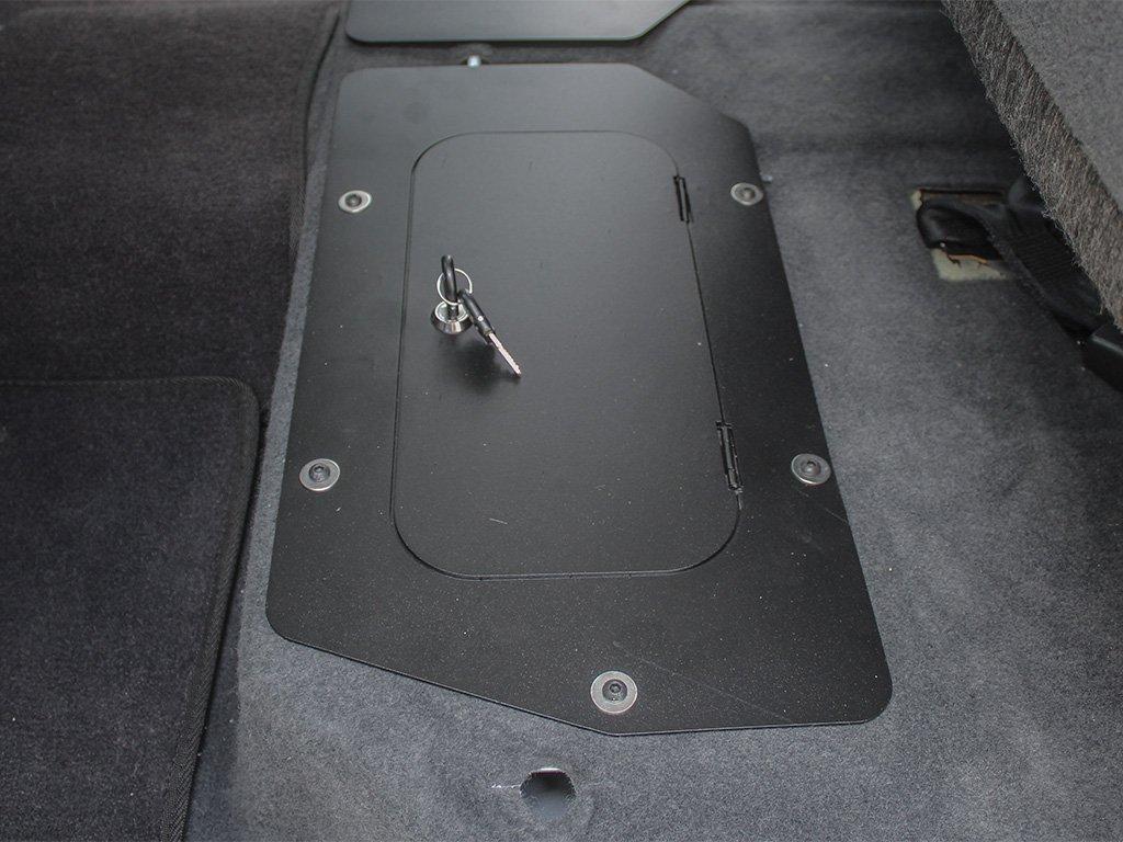 de Front Runner Caja fuerte debajo del asiento para una Ford Ranger