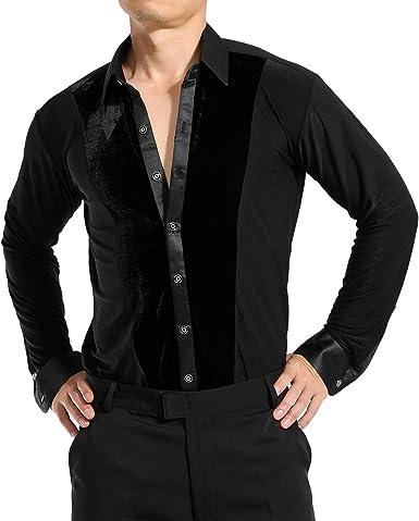 Salsa Samba - Camiseta de Baile para Hombre (Terciopelo): Amazon.es: Ropa y accesorios