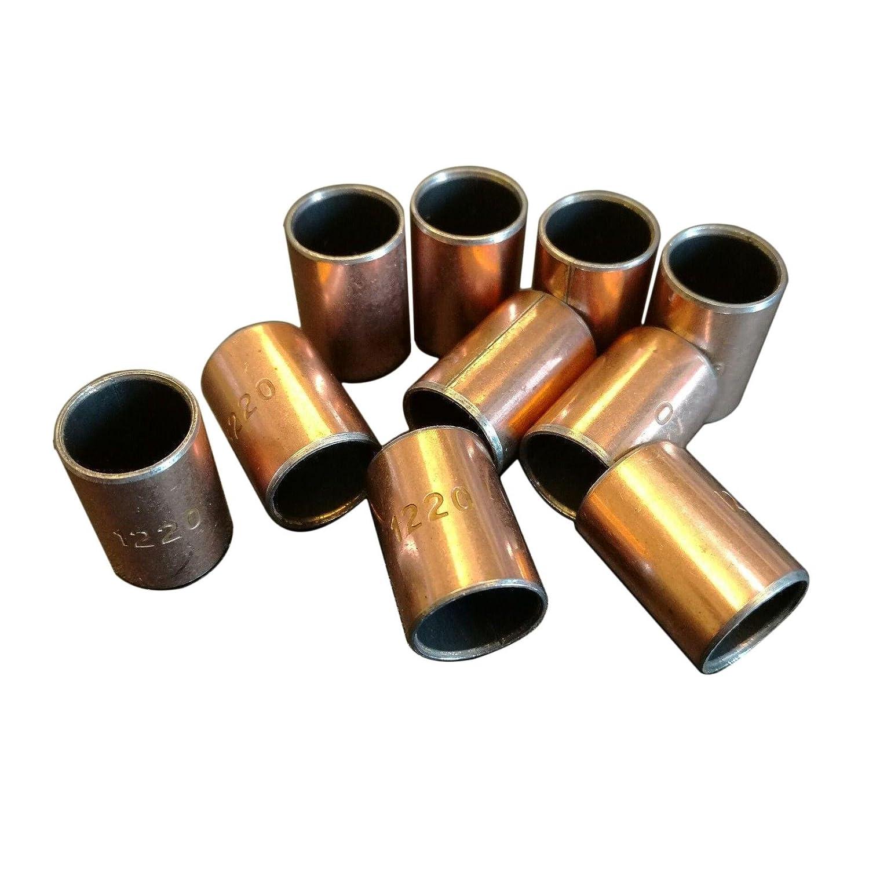 10x SF-1 Bronze Bushing Bearing 10mm x 12mm x 20mm Bush Motor Sleeve
