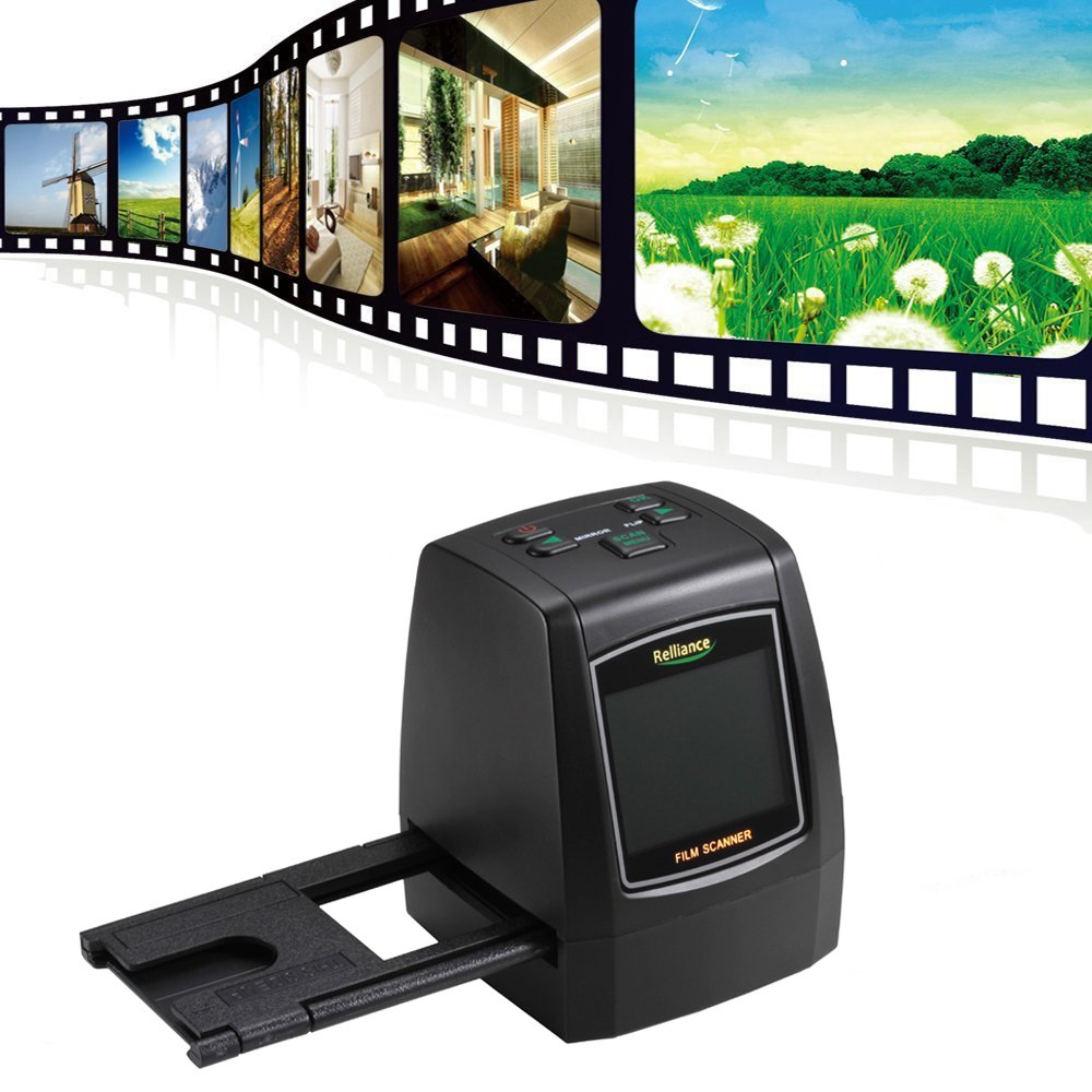 Digital Film Scanner ,Film Slide Viewer Scanner,14.0 Mega pixels Negative Film Slide VIEWER Scanner USB Digital Color Photo Copier - Without SD Card