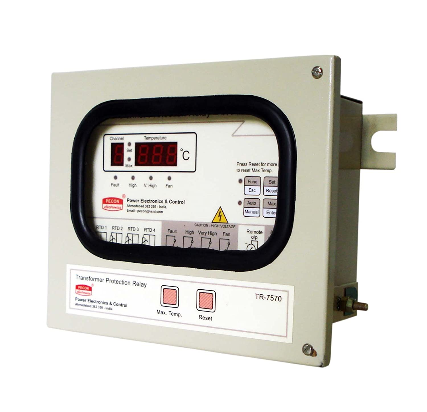 Buy Pecon Make Tr 7570 Transformer Protection Relay Temperature Drytype Testing Open Electrical Scanner Online At Low Prices In India