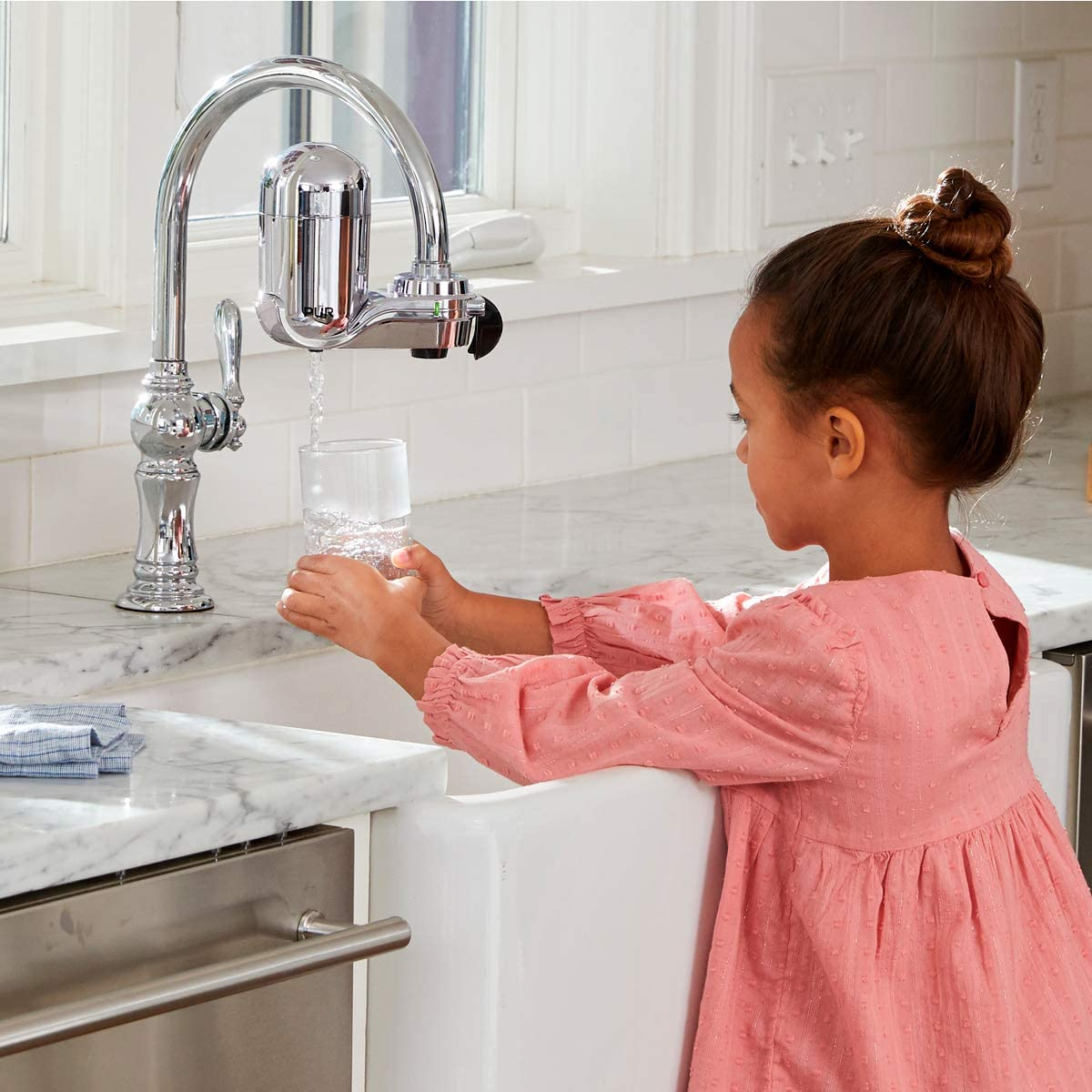 PUR - FM-3700 Faucet Mount Water Filter in real file