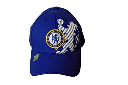 bb036315e3b Image Unavailable. Image not available for. Color  Chelsea FC London Soccer  Football Club Futbol Sun Buckle Hat Cap ...