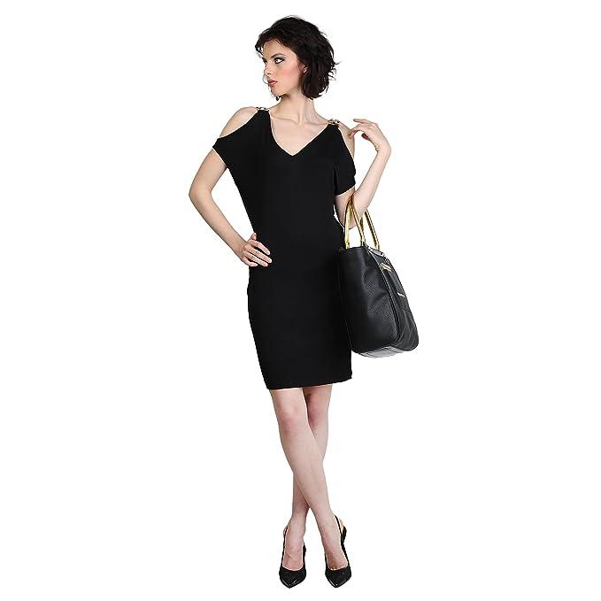 Vestido Versace Jeans D2HLB495 11559 899 negro - mujer - 38 FR