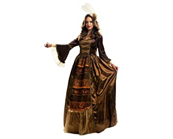 My Other Me Disfraz de Reina medieval de lujo, talla M-L (Viving Costumes MOM01247