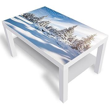 Dekoglas Ikea Lack Beistelltisch Couchtisch Weiße Fichten