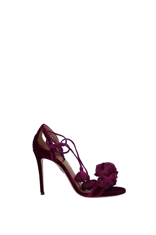 Aquazzura Sandales Sandales Femme B071HXSLTF - Velours Aquazzura (WLFHIGS0VEL) EU Violet af4d9cc - jessicalock.space
