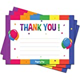 Kids Thank You Cards With Envelopes 15 Count