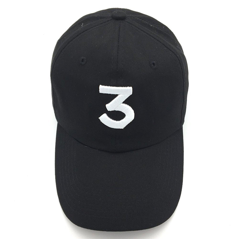 e9f4c5d33 Himozoo Chance The Rapper 3 Cap, Unisex Cotton Embroidery Baseball Cap  Adjustable Dad Hats