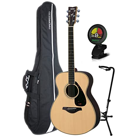 Yamaha fs730s pequeño cuerpo Grand Auditorium Guitarra acústica w ...