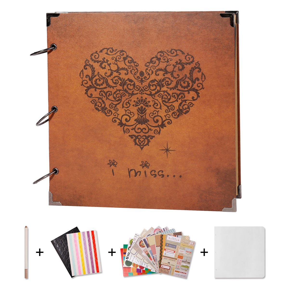 aa2792a26b2f Best Rated in Scrapbooking Albums   Refills   Helpful Customer ...