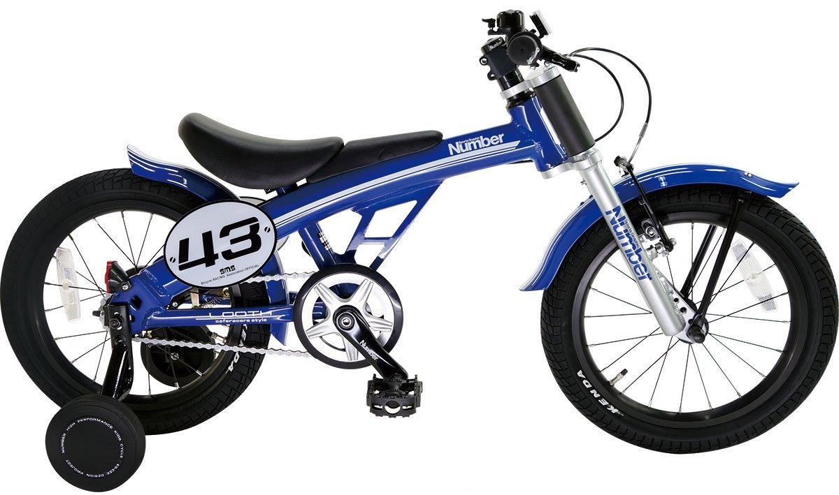 Number Bicycle(ナンバー バイシクル) LOOTH 16インチ アルミフレーム 幼児用自転車 B06XNPNLRB ブルー ブルー