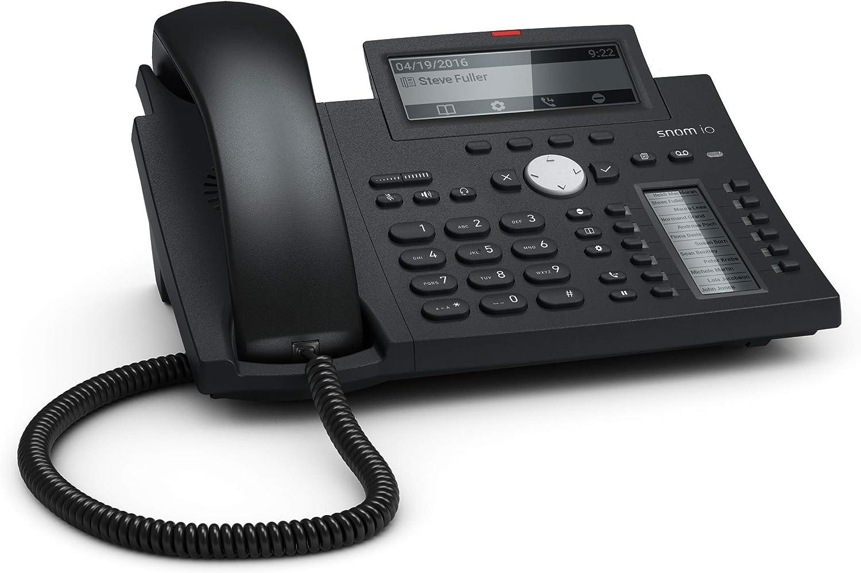 Snom D345 Ip Telefon Sip Tischtelefon 48 Schwarz Elektronik